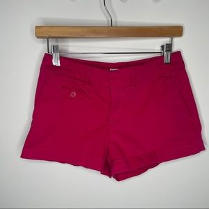 🎁4/20$🎁 vibrant pink denim shorts